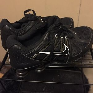 d2f289e2ef4d Nike Shoes - Nike SHOX NZ AGENT 438684-001 Black White Flywire